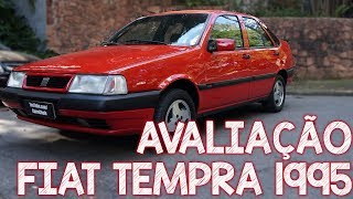 Avaliação Fiat TEMPRA 1995 - o revolucionário sedã da FIAT que veio antes do Marea