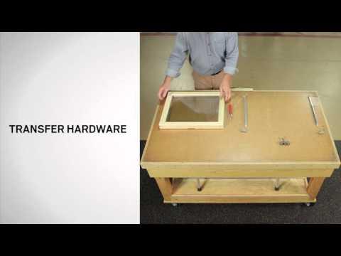 Sash Replacement on Andersen® 200 Series Tilt-Wash Windows