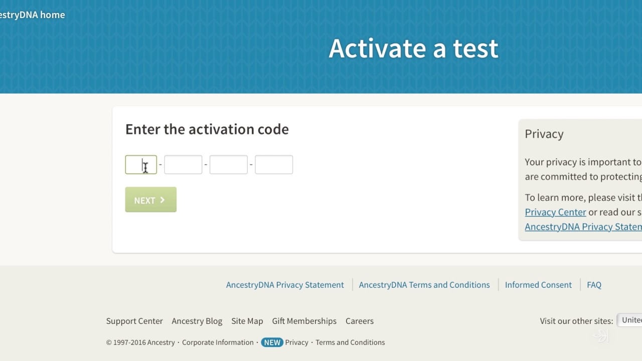 ancestry dna activation code already in use