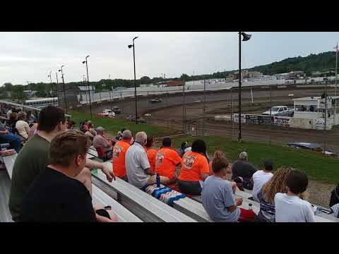 Peoria speedway street stock heat race 6/8/19