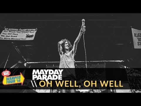 Mayday Parade - Oh Well, Oh Well (Live 2014 Vans Warped Tour)