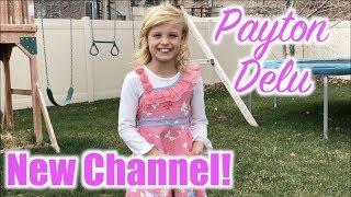 Payton's First Video | Ninja Kidz TV highlights!