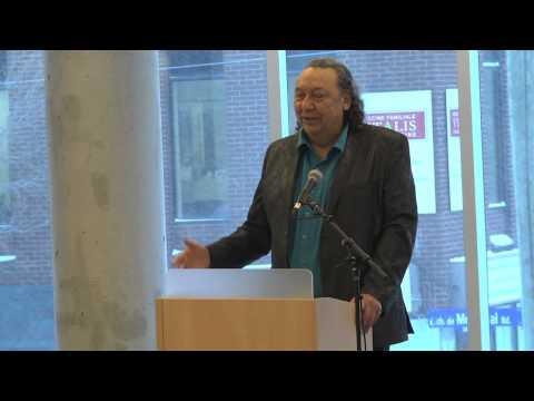 richard speaking ojibwa