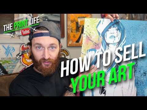 Screen Printing Vlog: How To Sell Your Art Online