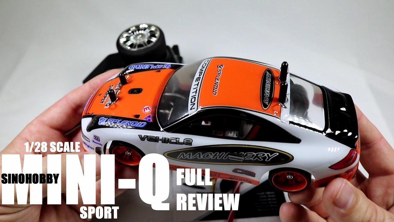 Sinohobby Mini Q 1 28 Touring Drift Car Review Unbox