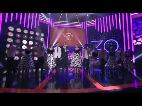 Obertura musical de los Premios Goya 2016