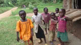 "Children Singing ""Oh Uganda"""