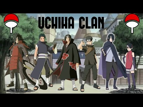 The Uchiha Clan - All Known Members