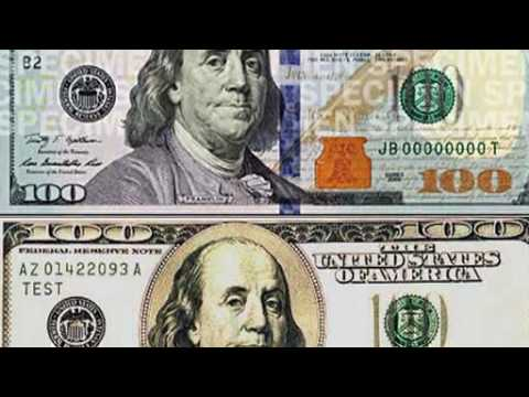 The new $100 Federal Reserve Note