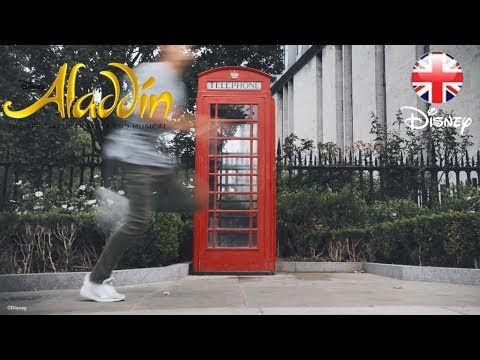 ALADDIN THE MUSICAL | Check Out Free-Runners' Journey to London's West End! | Official Disney UK
