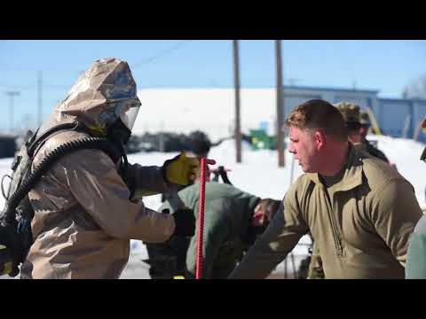 DFN:Oregon National Guard CERFP trains in Montana, GREAT FALLS, MT, UNITED STATES, 03.07.2018