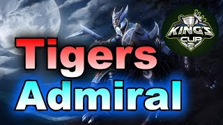 Tigers vs Admiral King's Cup SEA Group Stage