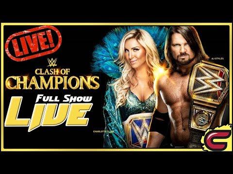 WWE Clash Of Champions 2017 Live Full Show...