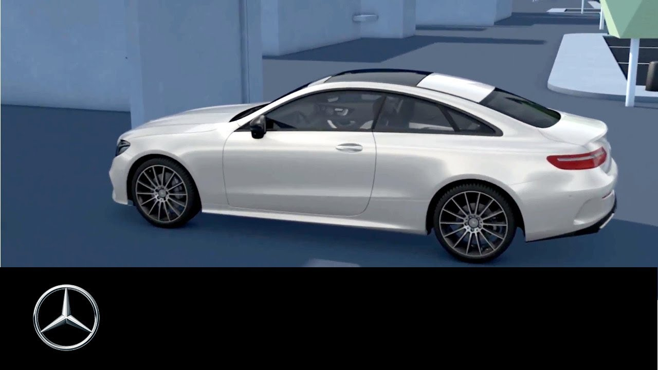 Mercedes-Benz E-Class: Unlocking and opening doors from the inside