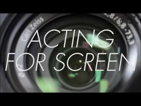 Acting For Screen Masterclass with the National Youth Theatre