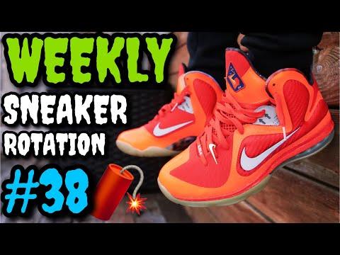 WEEKLY SNEAKER ROTATION ON FEET 38 (What I Wore Ft. Nike, Off-White, Yeezy & ?) #NUMEROTREINTAYOCHO