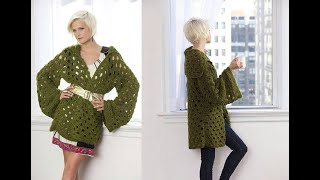КАРДИГАН КРЮЧКОМ. РАЗБОР УЗОРА. || Crochet. CARDIGAN. ANALYSIS OF THE PATTERN.