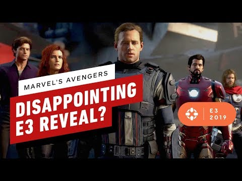 Why Marvel's Avengers Reveal Left Us Disappointed - E3 2019