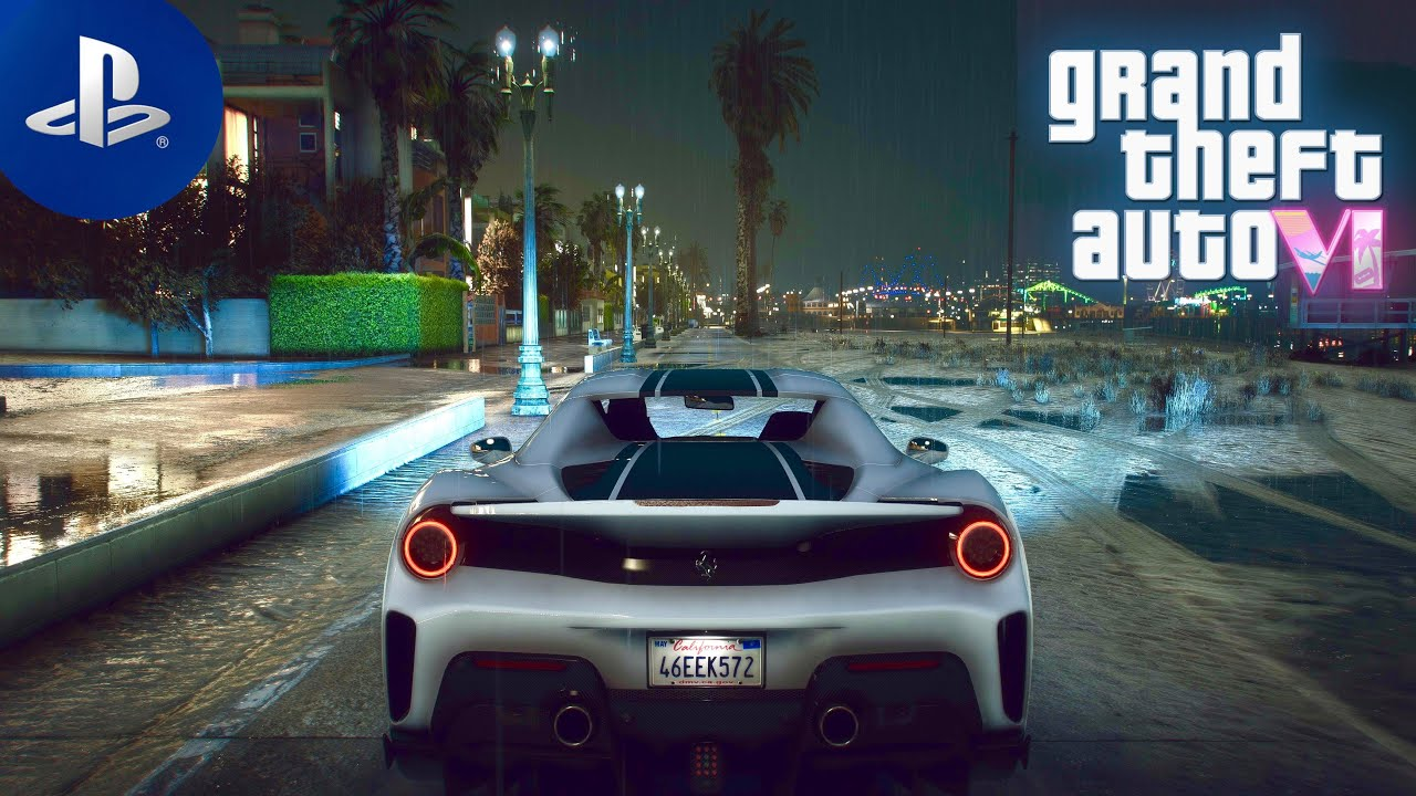 GTA 6 PlayStation 5 Concept Graphics DEMO | Ray Tracing 4K Gameplay on HIGH-END PC | 2020 GTA 5 MOD