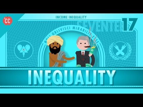 Income and Wealth Inequality: Crash Course Economics #17