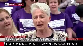 Skynews   Dr Kerryn Phelps AM for Wentworth Talking About How The Liberals Are Attacking Her With Li