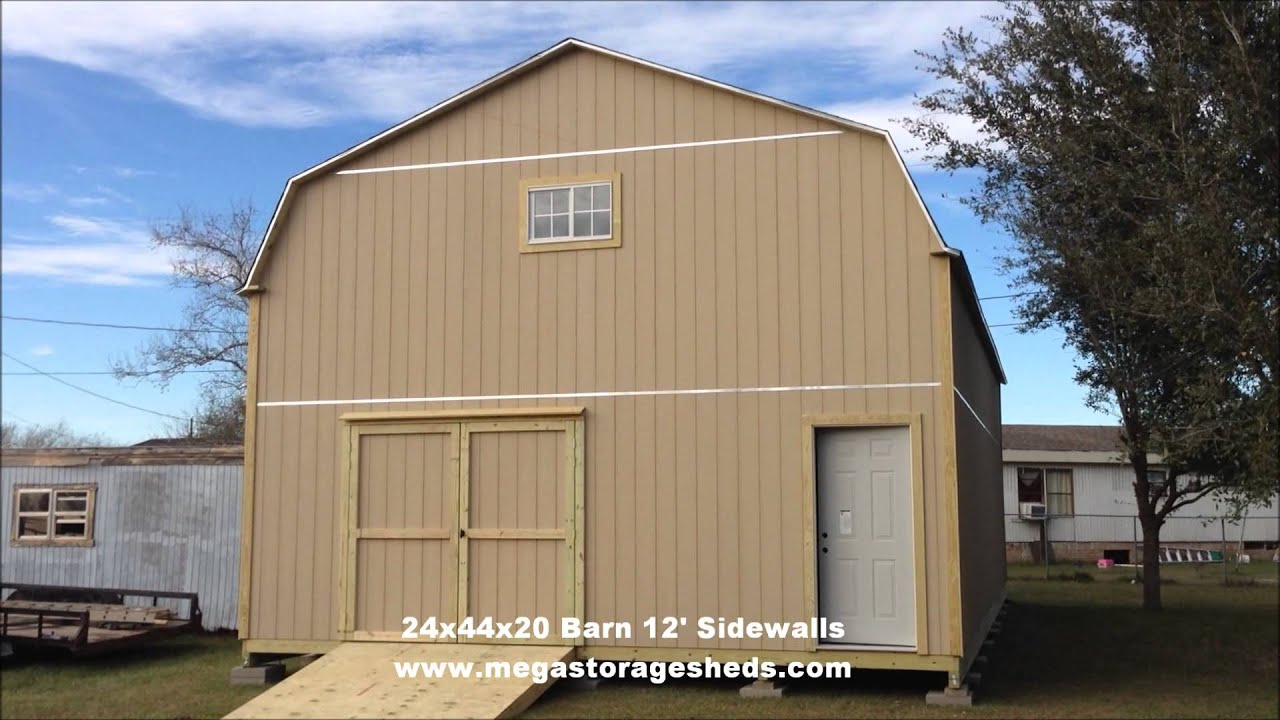 Storage Sheds Bay City Tx 24x44x20