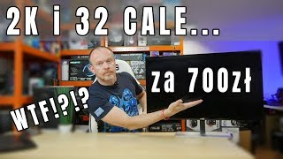 Absolutnie opłacalny monitor - 2K | 75Hz | FreeSync | 32 cale - AOC Q3279VWF