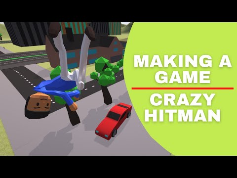 I Made A Crazy Taxi Hitman Game, A Subscribers Idea | Unity Devlog |