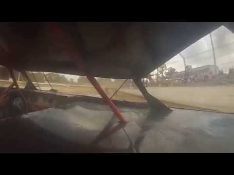 Putnam County Speedway Practice Race 3-14-15 Limited Late Model (On-Board Cam)