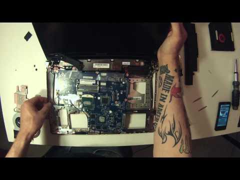 Lenovo IdeaPad y510p Teardown/Processor Swap