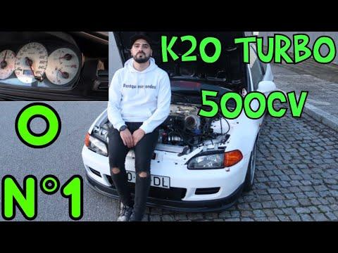 HONDA CIVIC K20 TURBO 'DL' - O verdadeiro Nº1 !!!