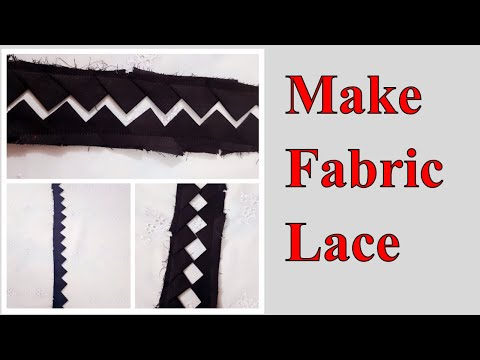 How to Make Fabric Lace at Home