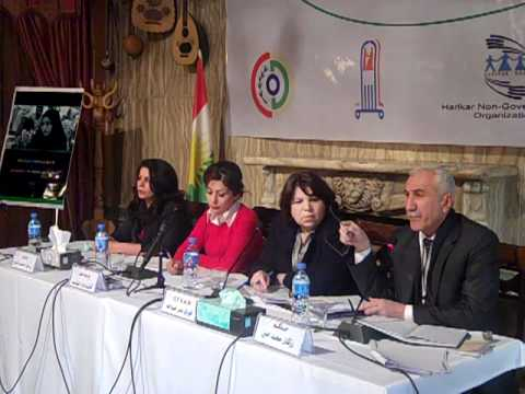 Panel Discussion Part 1 - Institutionalized GBV in Iraq's Legal System