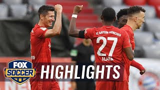 Bayern Munich out does Eintracht Frankfurt, extends lead in standings | 2020 Bundesliga Highlights