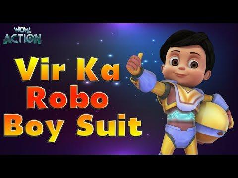 Vir: The Robot Boy | Hindi Cartoons for kids | Vir Ka Robo Boy Suit | WowKidz Action