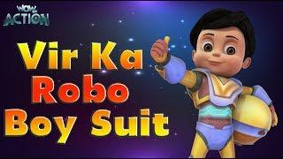 Vir: Der Roboter-Junge | Hindi Cartoons für Kinder | Vir Ka Robo-Jungen Anzug | WowKidz Aktion