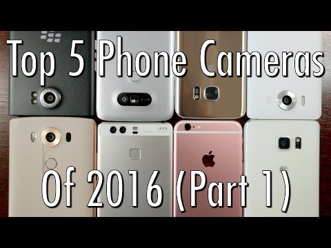 Top 5 phone cameras (of the first half) of 2016!