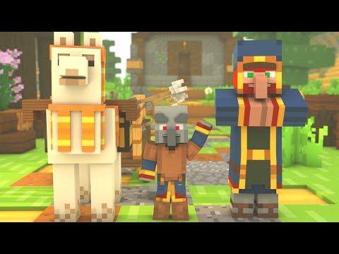 Villager & Pillager #7: HomeComing - Minecraft Animation