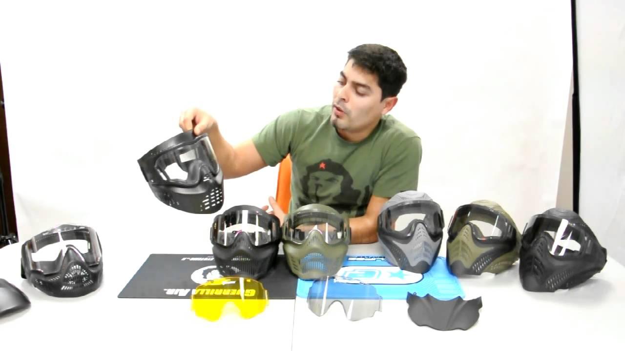 Resultado de imagen para Cómo elegir una máscara de Paintball