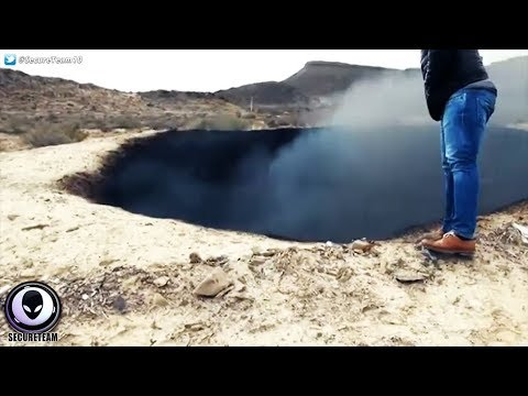 BURNING 'Impact' Crater Discovered In Mexico..