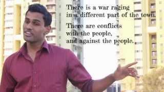 Shaun D'souza - Poetry Slam for Peace