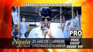 NGUEA LA ROUTE INVITE SES FANS A CARROSSEL POUR CELEBRER SES 25 ANS DE CARRIERE