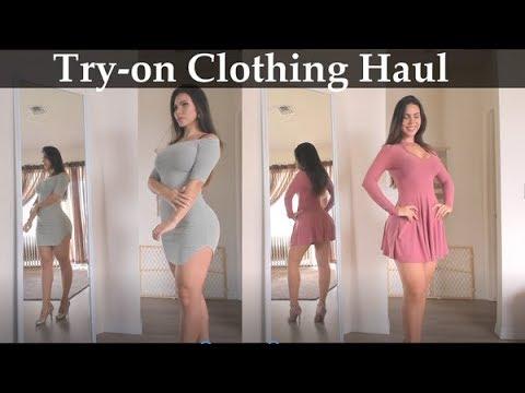 ASMR Clothing Haul - Dresses (Soft Spoken)