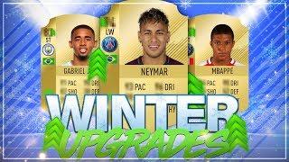 FIFA 18: WINTER UPGRADES ❄🔥 ft. Neymar, Mbappe, Gabriel Jesus etc.