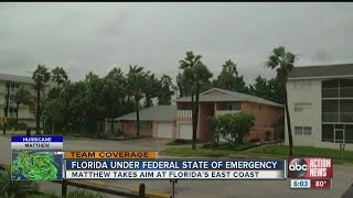 Florida under Federal State of Emergency