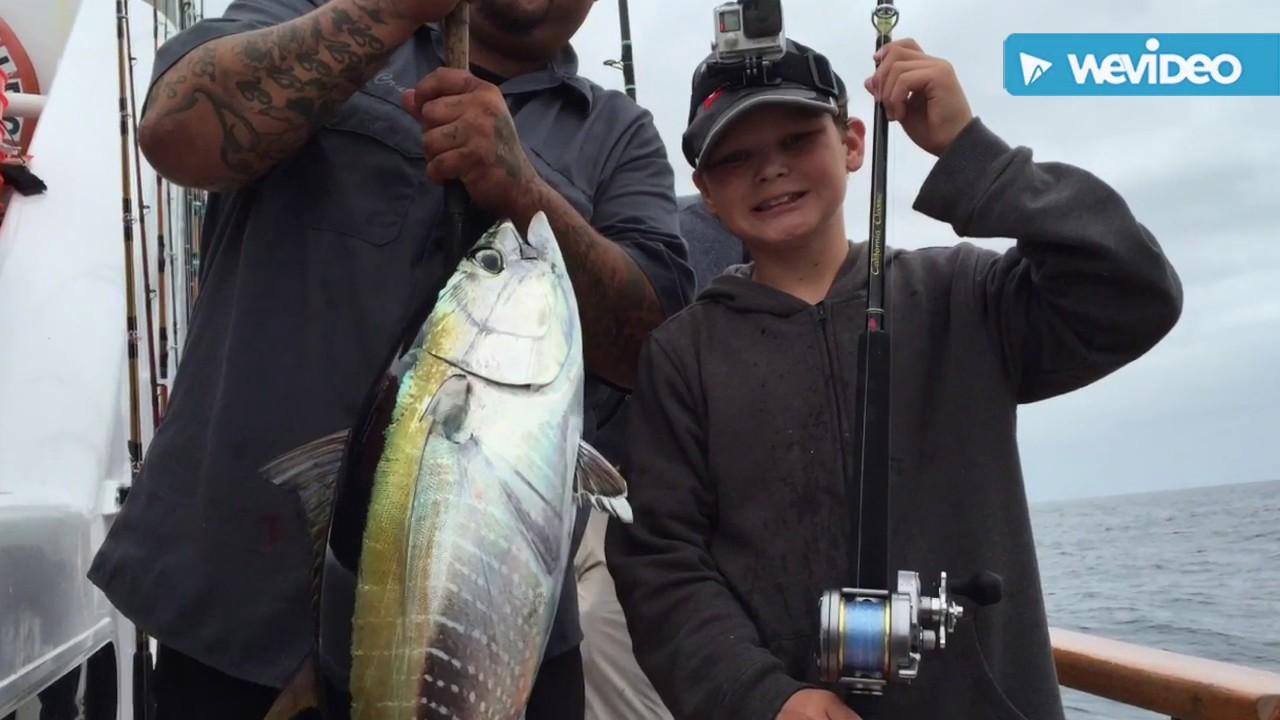 Yellowfin tuna fishing on the san diego youtube for San diego tuna fishing