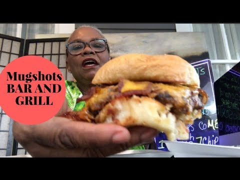 1/2 LB FAMOUS  MUGSHOTS BAR & GRILL BURGER   VOTED MISSISSIPPI 2017 BEST BURGER   FIRST TIME TRYING