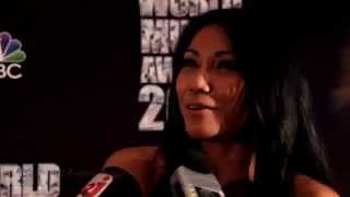 Anggun - Best Selling Indonesian Artist Award Acceptance + Interview (World Music Awards 2014)