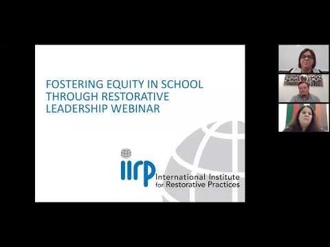 Fostering equity in schools through restorative leadership