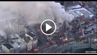 Se desata un gran incendio en un edificio del Bronx, en Nueva York
